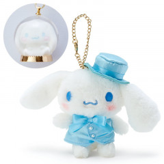 Japan Sanrio Necklace & Mascot Charm Set - Cinnamoroll