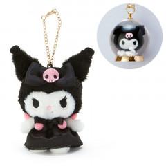 Japan Sanrio Necklace & Mascot Charm Set - Kuromi