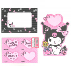 Japan Sanrio Multi Purpose Card - Kuromi