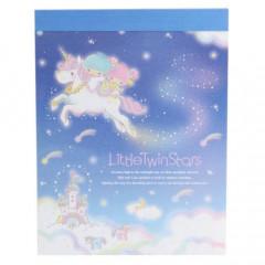 Japan Sanrio B8 Mini Notepad - Little Twin Stars Meteor