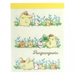 Japan Sanrio B8 Mini Notepad - Pompompurin