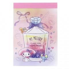 Japan Sanrio B8 Mini Notepad - My Melody Perfume