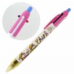 Japan Disney 2 Color Multi Pen & Mechanical Pencil - Chip & Dale Run