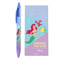 Japan Disney 2 Color Multi Pen & Mechanical Pencil - Ariel