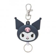 Japan Sanrio Reel Keychain - Kuromi