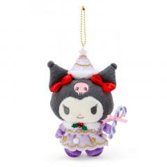 Japan Sanrio Christmas Fairy Keychain Plush - Kuromi