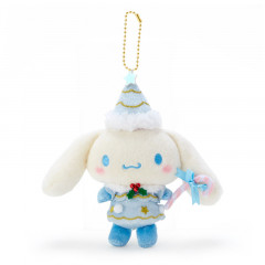 Japan Sanrio Christmas Fairy Keychain Plush - Cinnamoroll
