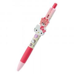 Japan Sanrio Swing Mascot Ball Pen - Hello Kitty