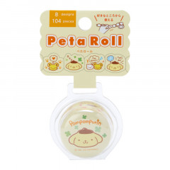 Japan Sanrio Peta Roll Washi Sticker - Pompompurin