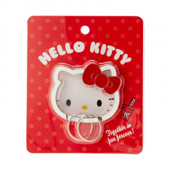 Japan Sanrio Face Frame Key Chain - Hello Kitty