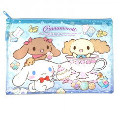 Sanrio A5 Zip Folder - Cinnamoroll