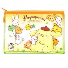 Sanrio A5 Zip Folder - Pompompurin