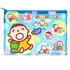 Sanrio A5 Zip Folder - Minna No Tabo