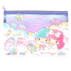 Sanrio A5 Zip Folder - Little Twin Stars