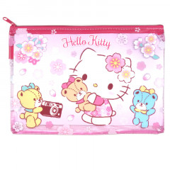 Sanrio A5 Zip Folder - Hello Kitty