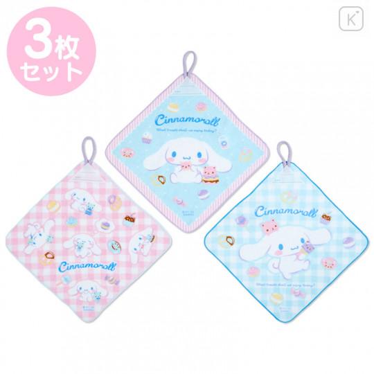 Japan Sanrio Handkerchief Wash Towel Set - Cinnamoroll - 1