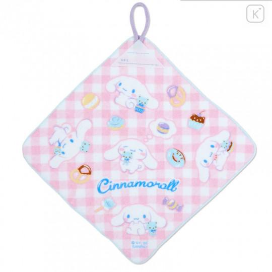 Japan Sanrio Handkerchief Wash Towel Set - Cinnamoroll - 3