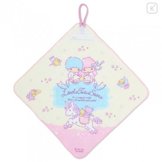Japan Sanrio Handkerchief Wash Towel Set - Little Twin Stars - 3