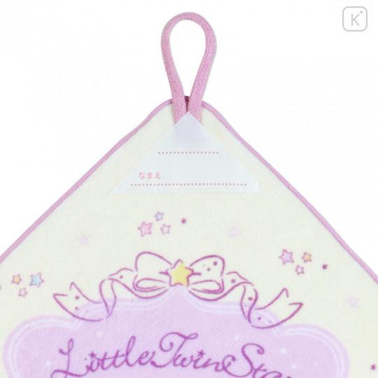 Japan Sanrio Handkerchief Wash Towel Set - Little Twin Stars - 5