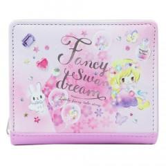 Japan Disney Bi-Fold Wallet - Rapunzel Little Fairy Tale