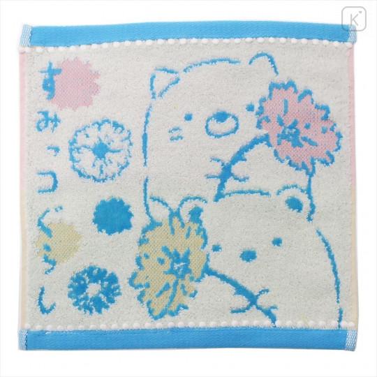 Japan San-X Handkerchief Wash Towel - Sumikko Gurashi - 1