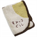 Japan San-X Die-cut Handkerchief Wash Towel - Sumikko Gurashi Neko - 2