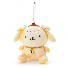 Japan Sanrio Year of the Ox Keychain Plush - Pompompurin