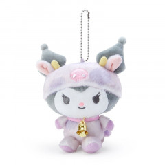 Japan Sanrio Year of the Ox Keychain Plush - Kuromi
