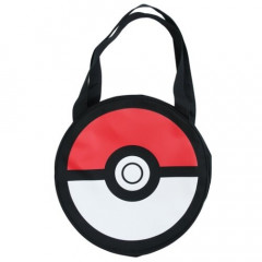 Japan Pokemon Shoulder Bag - Die-Cut Monster Ball