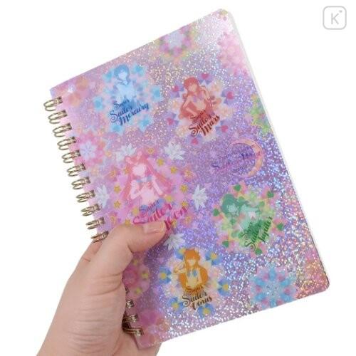 Japan Sailor Moon B6 Twin Ring Notebook - Eternal Kaleidoscope - 2