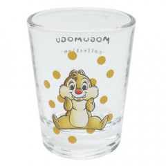 Japan Disney Mini Glass Cup - Dale