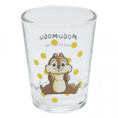 Japan Disney Mini Glass Cup - Chip