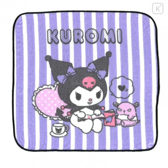 Sanrio Handkerchief Wash Towel - Kuromi - 1