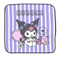 Sanrio Handkerchief Wash Towel - Kuromi