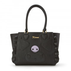 Japan Sanrio Synthetic Leather Tote Bag - Kuromi