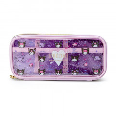Japan Sanrio Mini Face Pouch - Kuromi