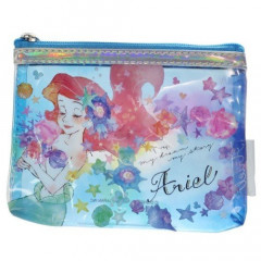 Japan Disney Mini Clear Pouch - Ariel