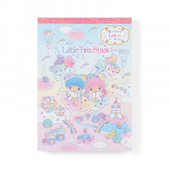 Japan Sanrio A6 Notepad Set - little Twin Stars