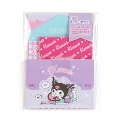 Japan Sanrio Mini Letter Set - Kuromi