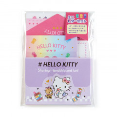 Japan Sanrio Mini Letter Set - Hello Kitty