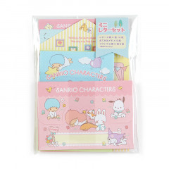Japan Sanrio Mini Letter Set - Sanrio Family