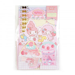 Japan Sanrio Diecut Mini Letter Set - My Melody