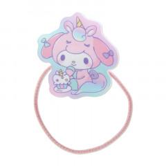 Japan Sanrio Acrylic Charm Hair Tie - My Melody Unicorn Party