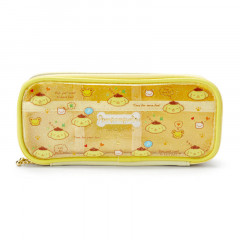 Japan Sanrio Mini Face Pouch - Pompompurin