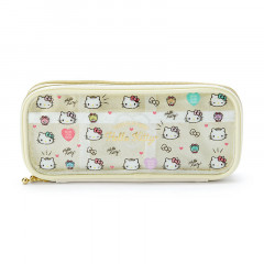 Japan Sanrio Mini Face Pouch - Hello Kitty