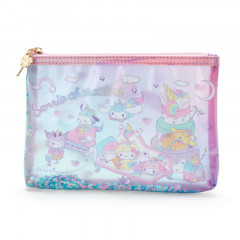 Japan Sanrio Vinyl Pouch (M) - Sanrio Family Unicorn Party