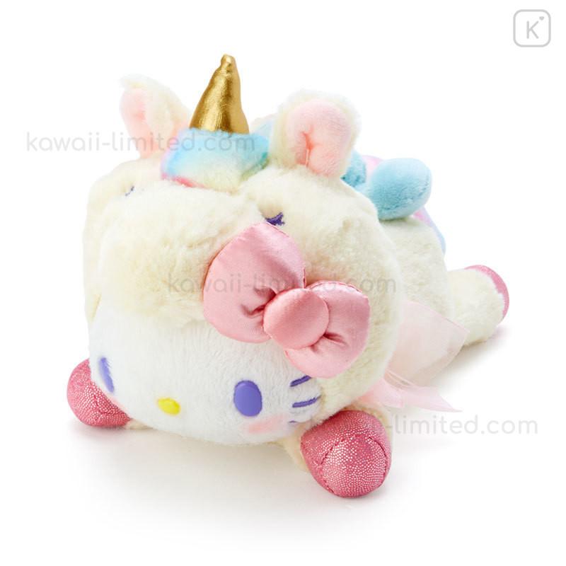 Pink Resin Unicorn Kitty Teddy Bear