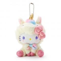 Japan Sanrio Unicorn Party Keychain Plush - Hello Kitty