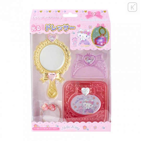 Japan Sanrio Mini Dresser Set - Hello Kitty - 1