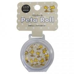 Japan Peanuts Peta Roll Washi Sticker - Snoopy & Woodstock